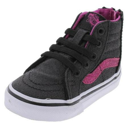 d49f86e49b Vans - Vans Girls SK8-Hi High-Top Faux Laces Fashion Sneakers - Walmart.com