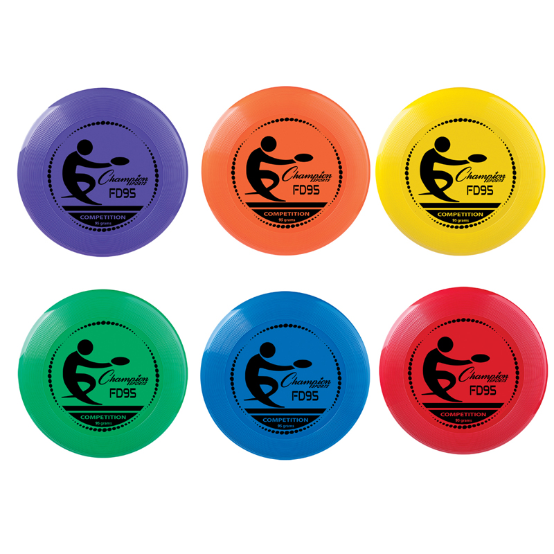 SINGLE FLYING DISC ASST COLORS