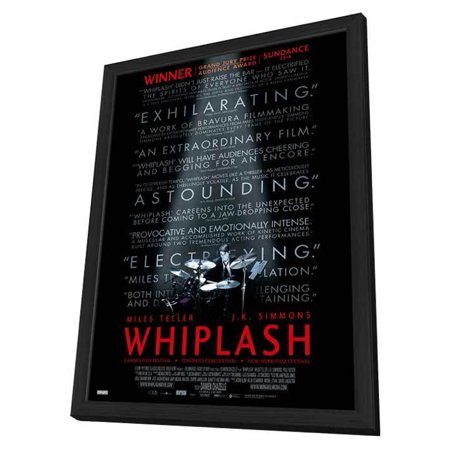 Whiplash  2014  27X40 Framed Movie Poster  Canadian