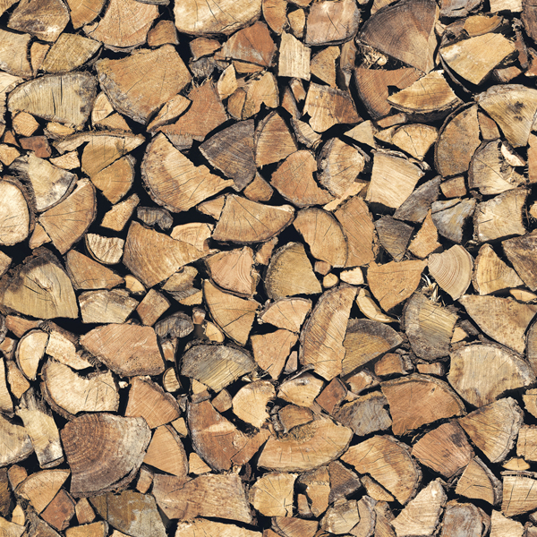 Wood Chips Adhesive Film Set of 2