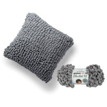 Bernat Alize EZ Yarn Loopy Pillow Kit