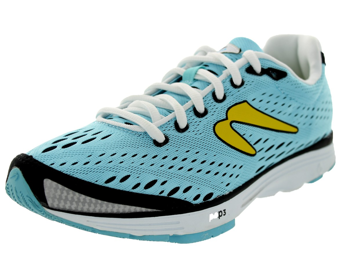 Women's Aha Light Blue/Yellow/White WOO4214 Economical, stylish, and eye-catching shoes