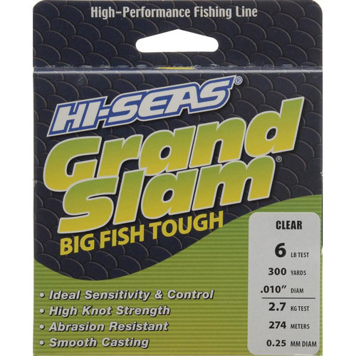 American Fishing Wire Grand Slam #6 Clear Monofilament Fishing Line