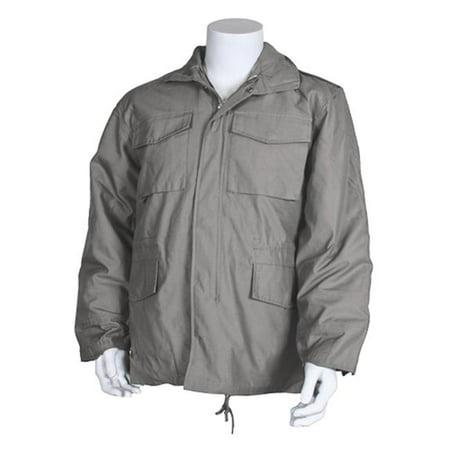 FoxOutdoor 68-39 XXXL M65 Field Jacket with Liner, 3XL - Grey