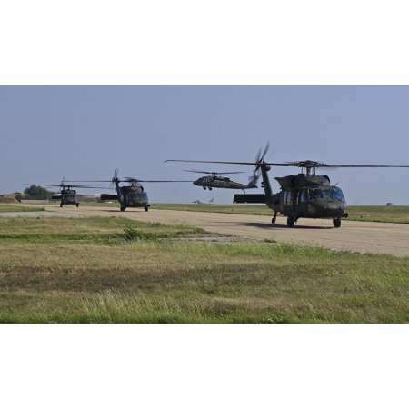 LAMINATED POSTER Army Uh-60 Blackhawks Aviation Us Army Poster Print 24 x 36