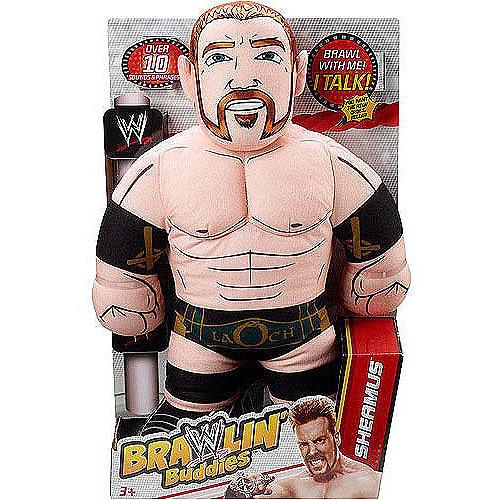 WWE Brawlin' Buddies Talking Plush, Sheamus