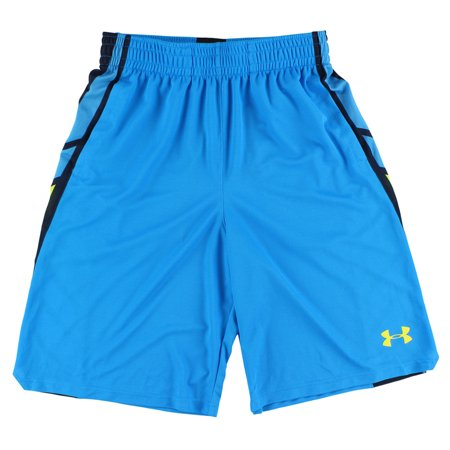 Under Armour Mens Select Eleven Inch Basketball Shorts Sky Blue M