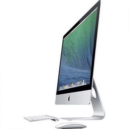 Apple Imac Me086ll A Intel Core I5 4570R X4 2 7Ghz 8Gb 1Tb 21 5   Silver  Refurbished
