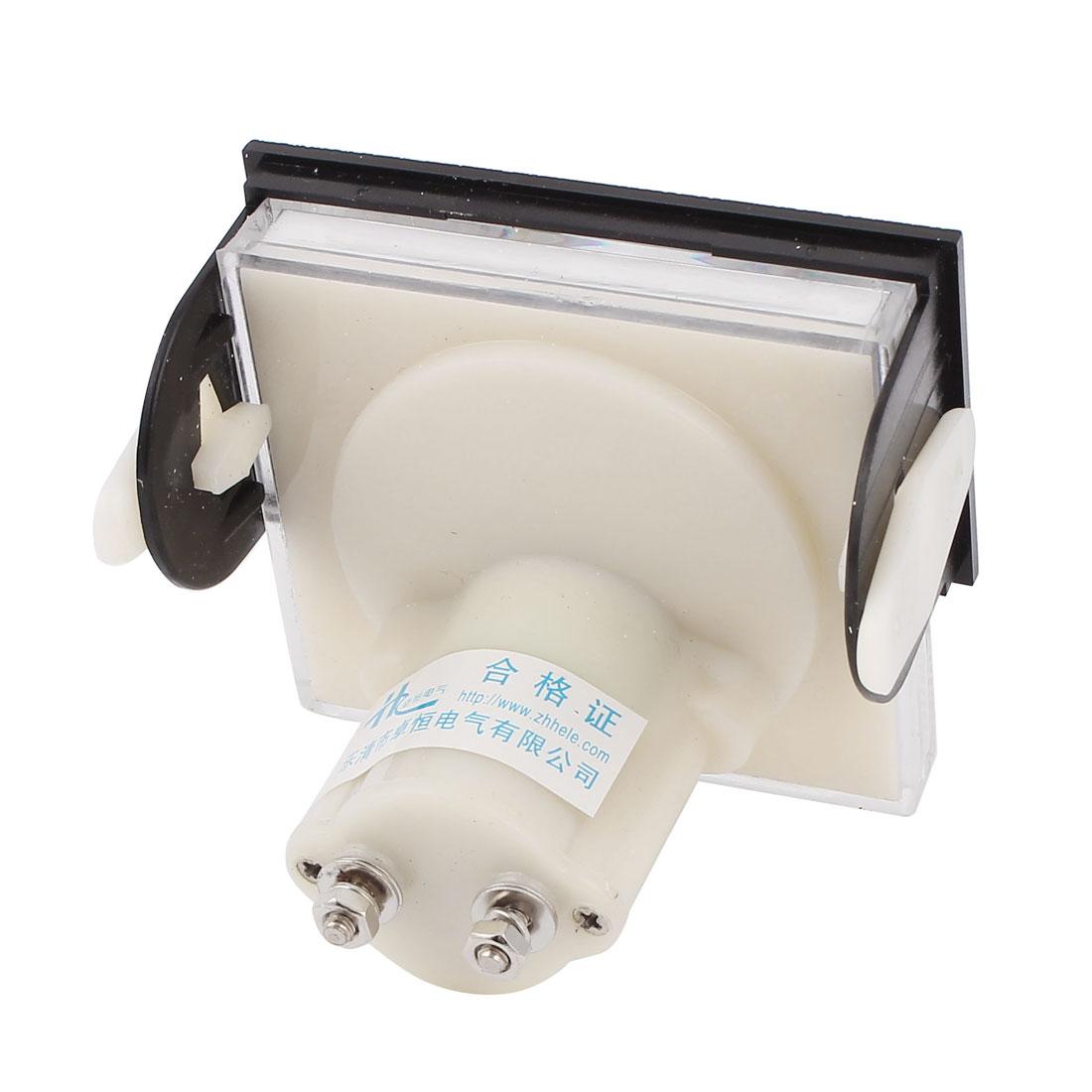 85C17 DC 0-50V Class 2.5 Analog Panel Voltage Voltmeter Gauge Volt Meter - image 1 of 2