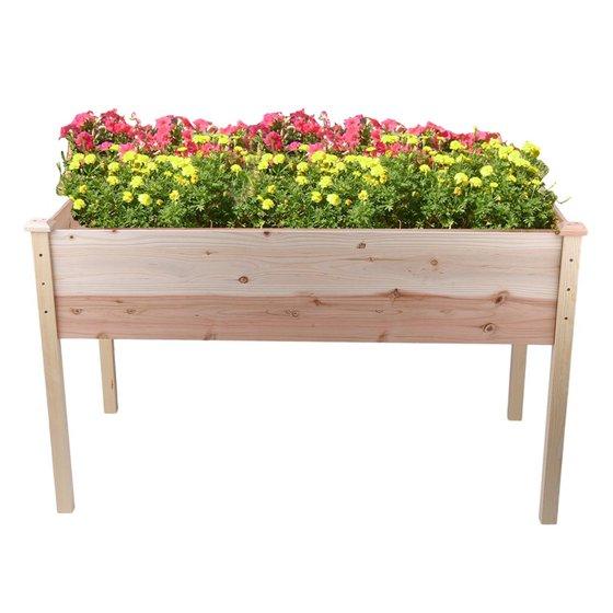 Raisedelevated Garden Bed Planter Box Kit For Vegetableflowerherb