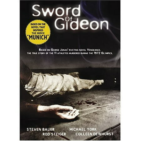 Sword of Gideon (DVD) - Narnia Peter Sword