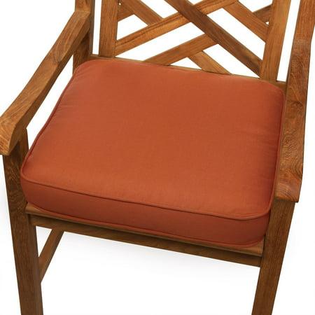 Mozaic Company Sunbrella Solid Corded Outdoor Chair Cushion Sunbrella Outdoor Chair Cushions