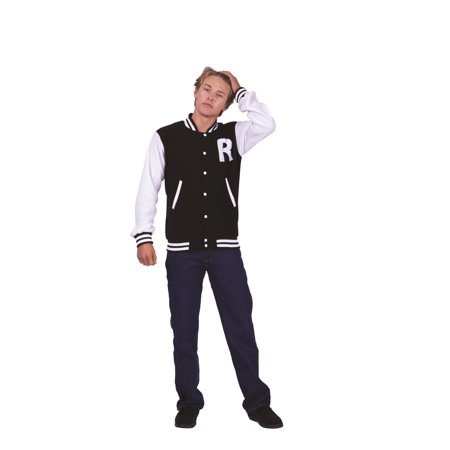 Letterman Jacket Adult Costume- Choice of colors](Design Your Own Letterman Jacket)