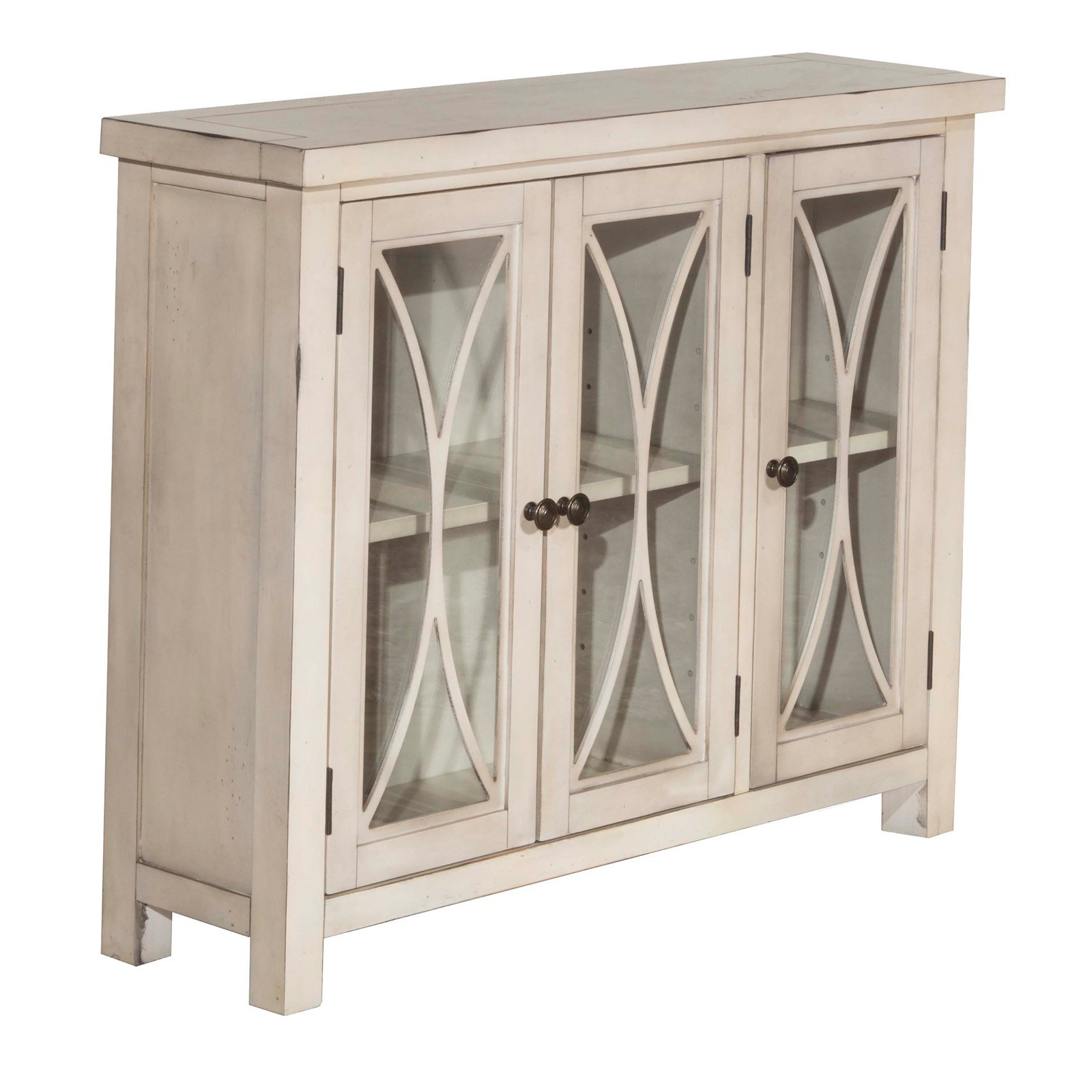 Hillsdale Furniture Bayside Three (3) Door Cabinet, Multiple Finishes