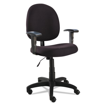 Alera Essentia Series Swivel Task Chair with Adjustable Arms,