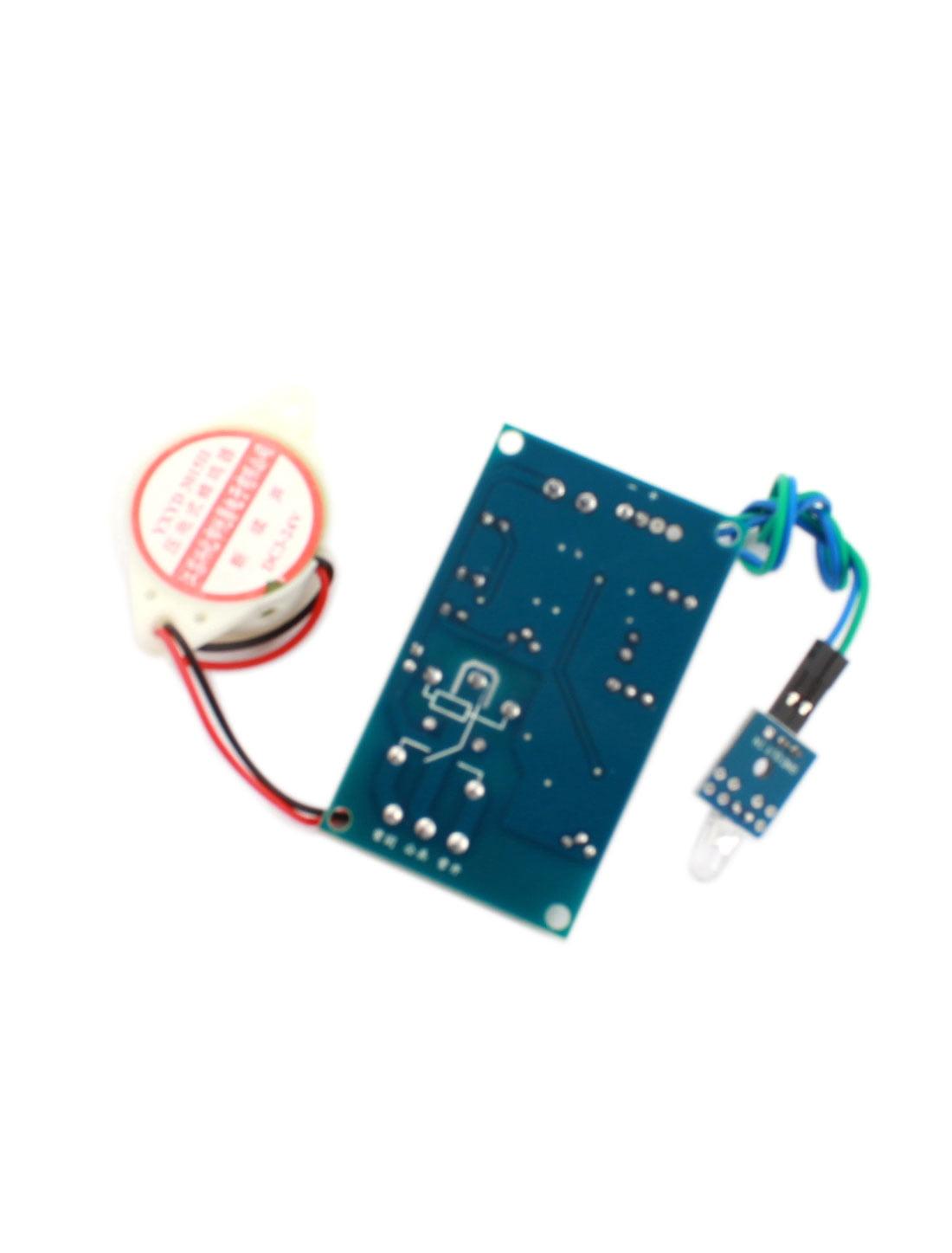 Dc24v Photosensitive Diode Sensor Delay Alarm Pcb Circuit Module W Piezo Buzzer