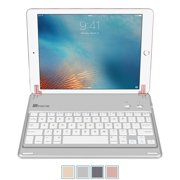 [Multi-Angle] Fintie Bluetooth Keyboard Case Cover with Auto Wake / Sleep for iPad Air 2 & iPad Pro 9.7-inch, Rose Gold