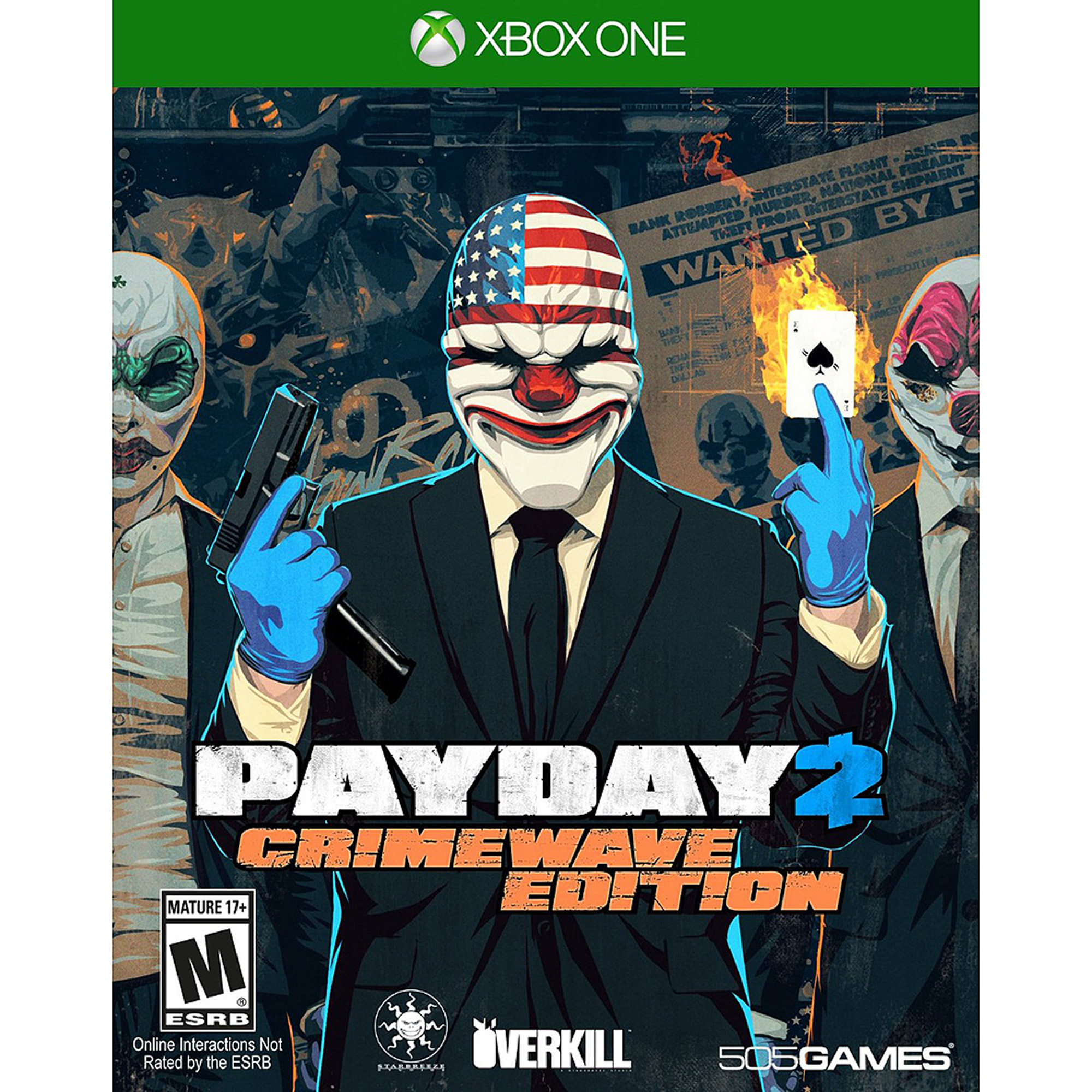 Payday 2 Crimewave (Xbox One)