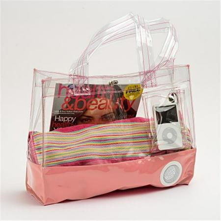 Youphoreah YOLA-555 -2 Tote Bag with Speaker, Pink