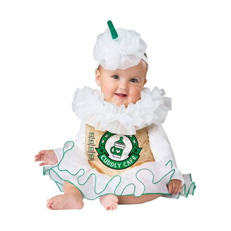 Cuddly Cappuccino Infant Costume (Snow White Costume For Infant)