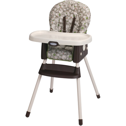 Graco SimpleSwitch 2-in-1 Convertible High Chair, Zuba