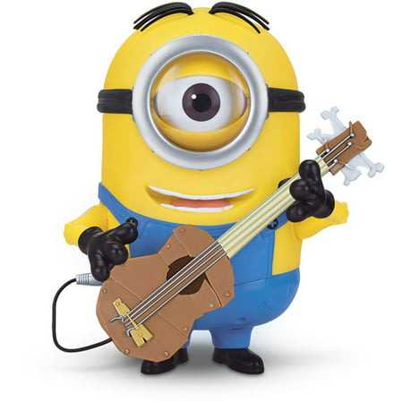 Minions Talking Stuart with Guitar