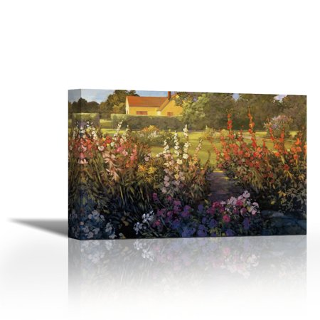 Farm Garden - Contemporary Fine Art Giclee on Canvas Gallery Wrap ...