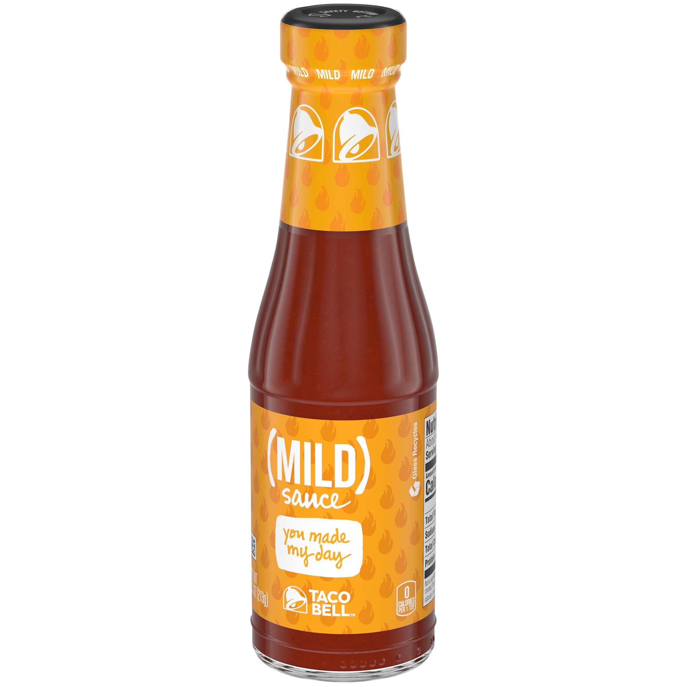 Taco Bell Mild Sauce, 7.5 oz Bottle - Walmart.com