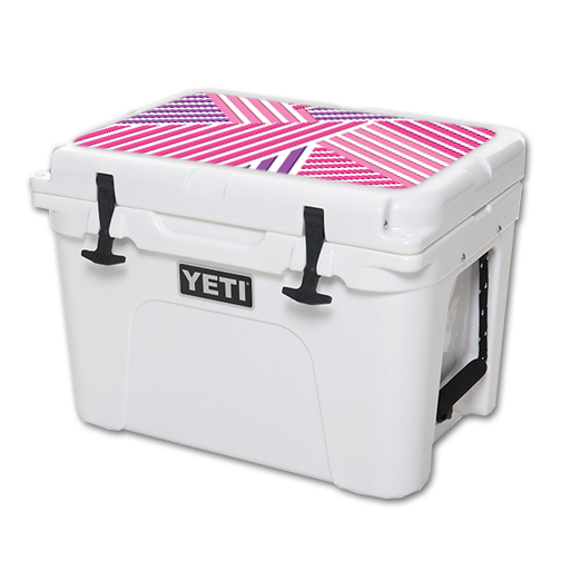MightySkins Protective Vinyl Skin Decal for YETI Tundra 35 qt Cooler Lid wrap cover sticker skins Lipstick