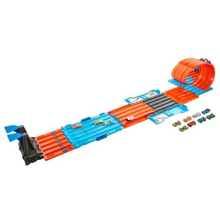Rage Wheels (Hot Wheels Track Builder Race Crate Bundle)