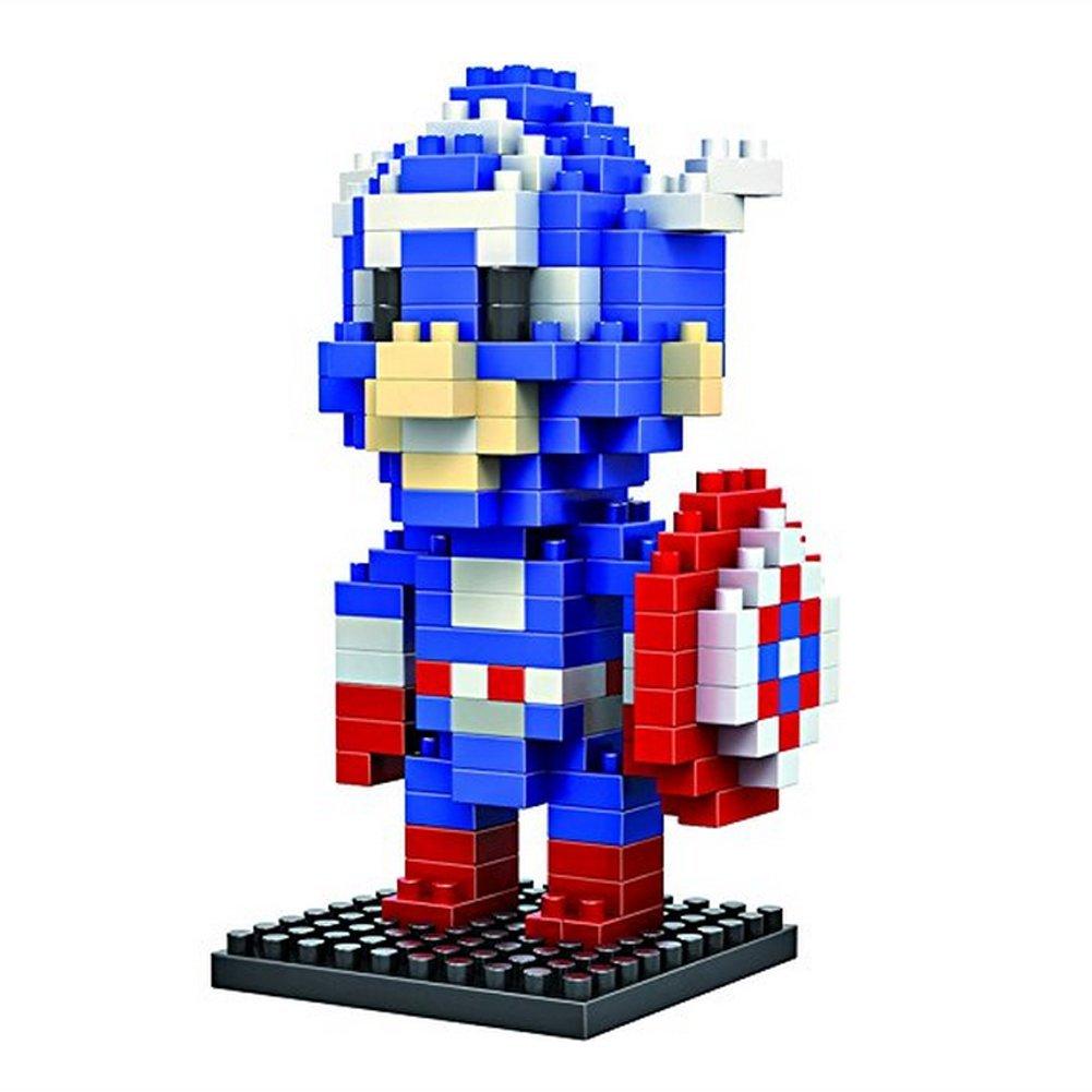 New LOZ Diamond Blocks Nanoblock-The Avengers Captain America-Educational Toy 190pcs by LOZ