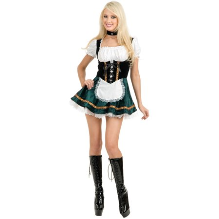 Tall Stout Beer Girl Costume (Beer Bottle Costumes)