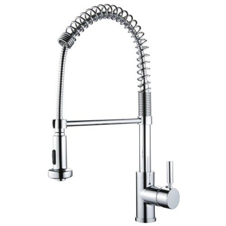 Miseno MK281 Mila Commercial Style Pre-Rinse Kitchen Faucet ...