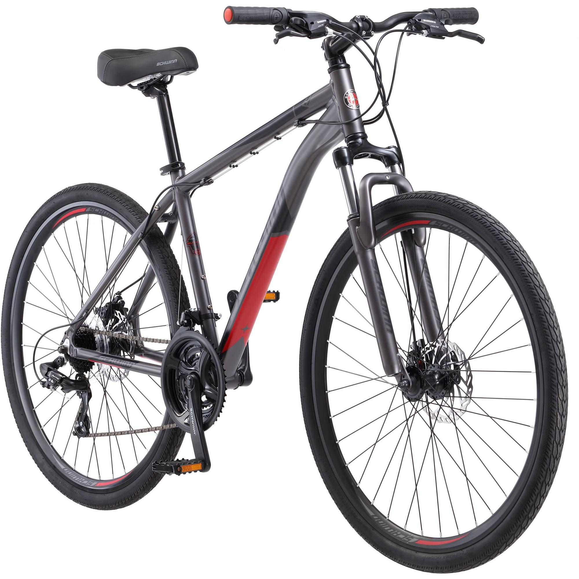 Click here to buy Schwinn 700c Men's DSB Hybrid Bike by Pacific Cycle.