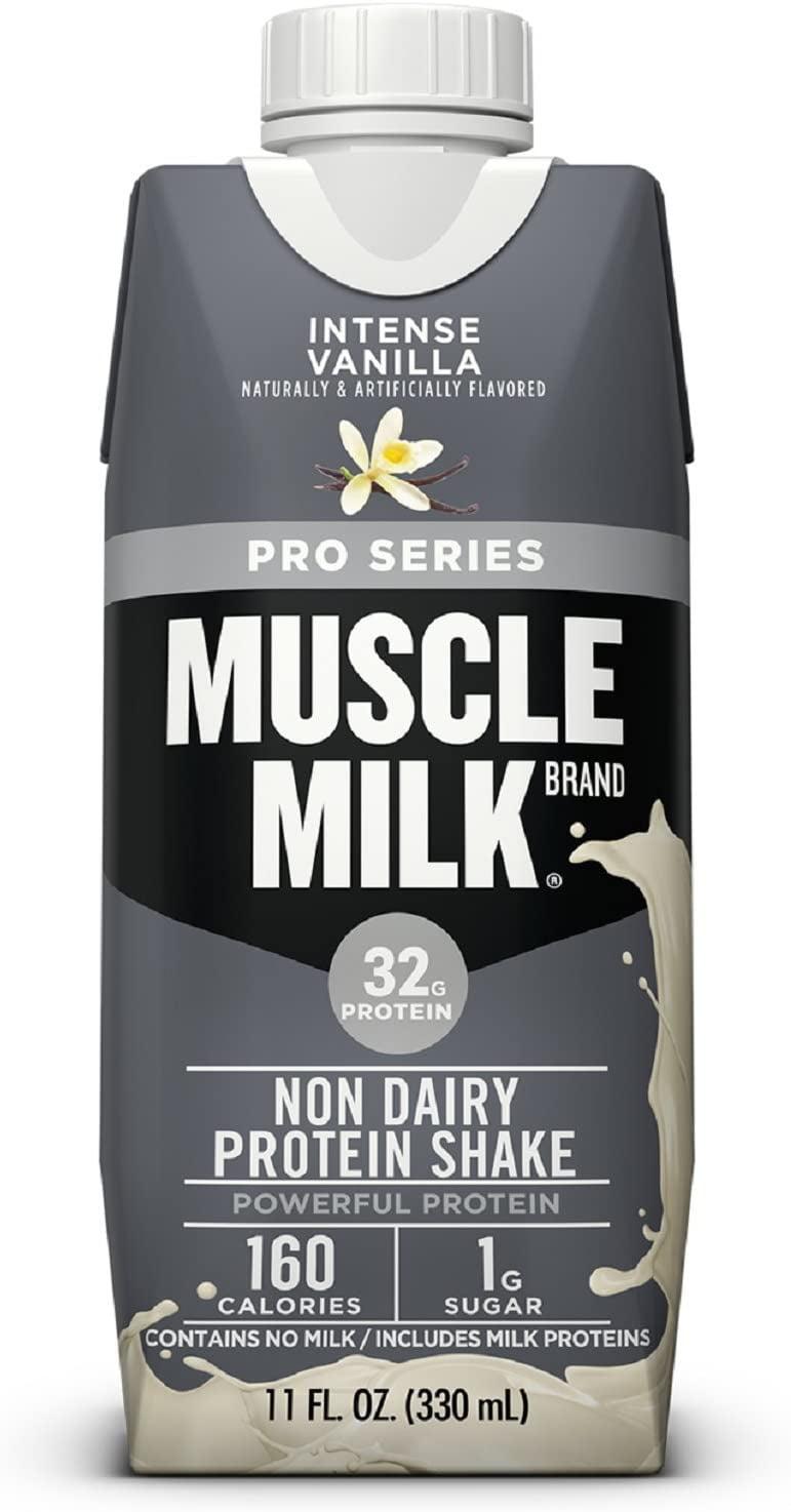 Muscle Milk Pro Series Protein Shake, Intense Vanilla, 32g ...