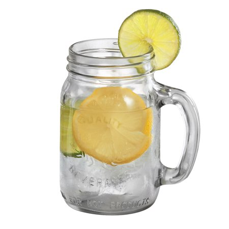 16 Oz Beer Mugs (Mason Jar Mug 16 oz a Set of)