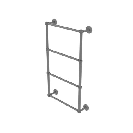 Allied Brass Ladder Towel Bar Groovy Detail