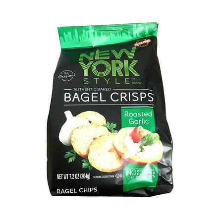 new york bagel crisps New York Style Garlic Bagel Chips New York Style Garlic Bagel Chips (Garlic Bagels)