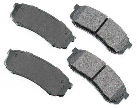 1993-1997 LAND CRUISER REAR  Brake Pads Genuine Toyota OEM 04466-60020