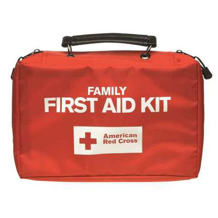American Red Cross 9162-RC-GR Bulk First Aid kit, Red