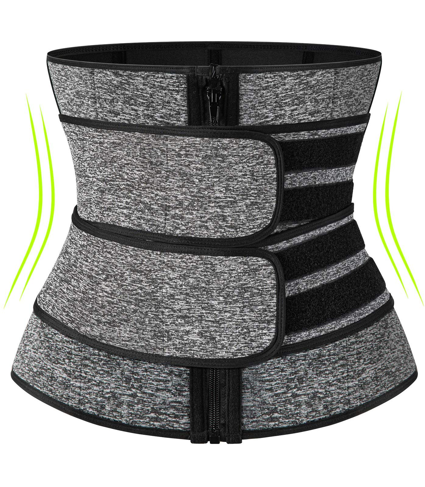 Neoprene Sauna Waist Trainer Corset Sweat Belt for Women Weight Loss Compression