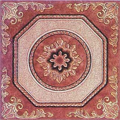 "Home Dynamix Dynamix Vinyl Tiles - 807 Brown Ornate -  (20-Pack, 12"" x 12"")"