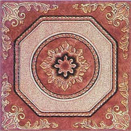Home Dynamix Dynamix Vinyl Tiles - 807 Brown Ornate -  (20-Pack, 12