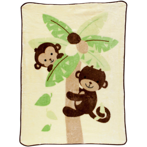 Lambs & Ivy Bedtime Originals Curly Tails Warm & Cozy Blanket