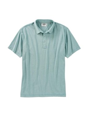23f92780 Product Image Linksoul End-On-End Stripe Knit Polo (Agave)