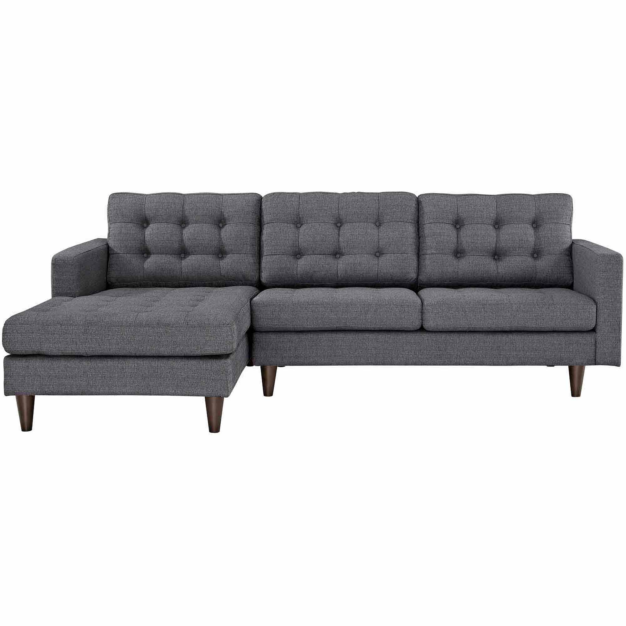 Modway Empress Left Arm Sectional Sofa Multiple Colors Walmart