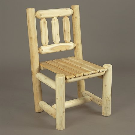 Rustic Natural Cedar Furniture Old Country Dining Side Chair