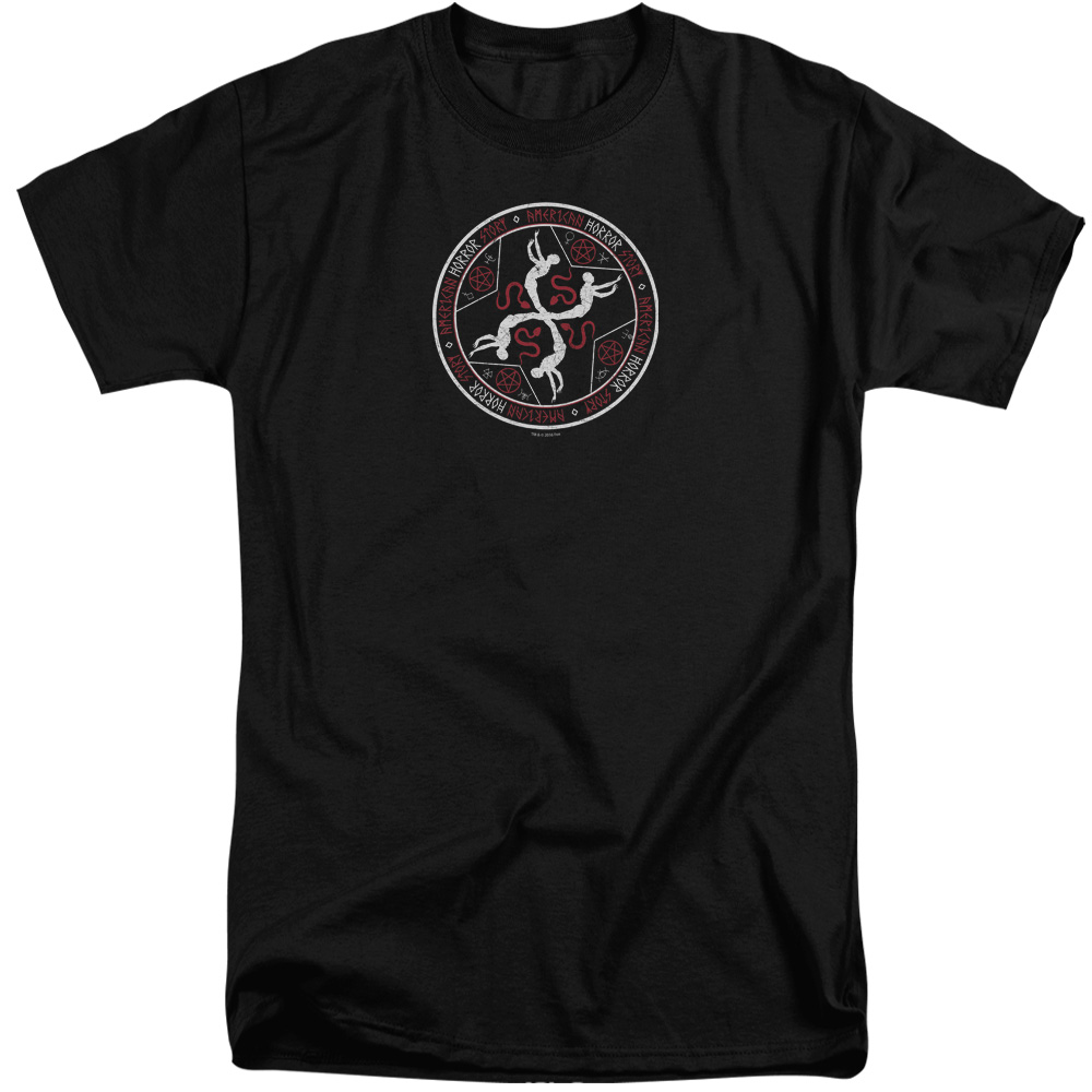 American Horror Story Coven Serpent Sigil Mens Big And Tall Shirt