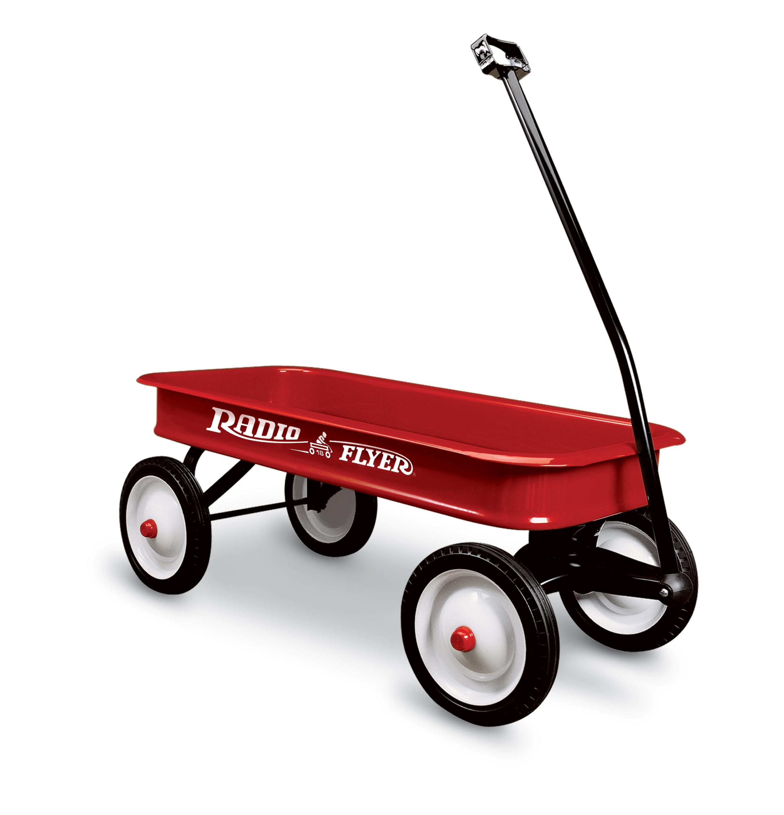 Radio Flyer, Original Classic Red Wagon, Model #18, Red by Radio Flyer Inc