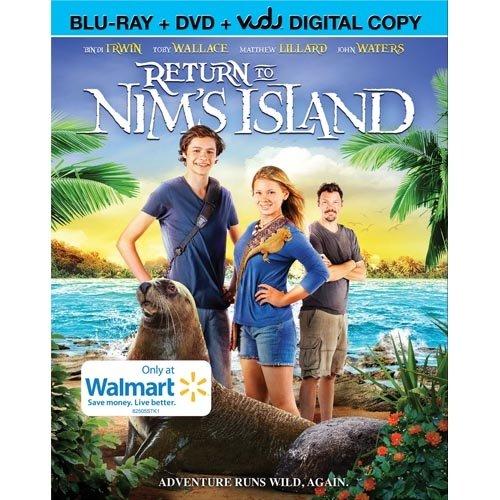 Return To Nim's Island (Blu-ray + DVD + Digital Copy)